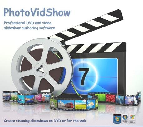 تحميل برنامج PhotoVidShow لصناعة فيديوهات من صورك واضافة الصوت لها
