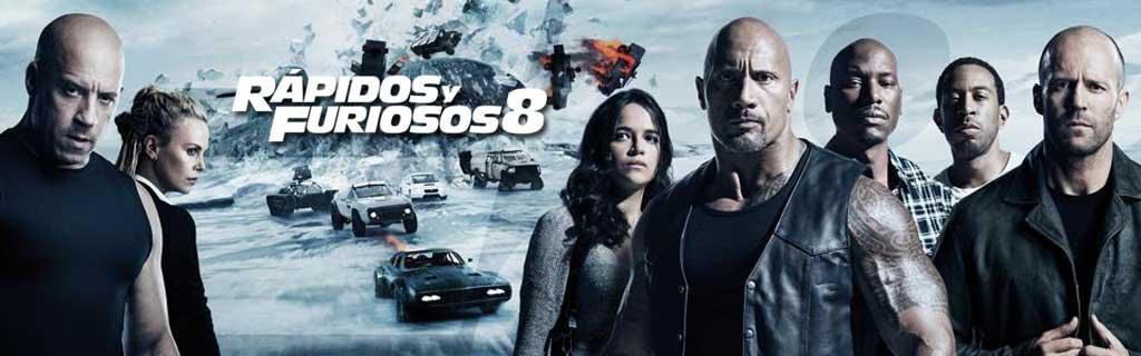 Rapidos y Furiosos 8 (2017)