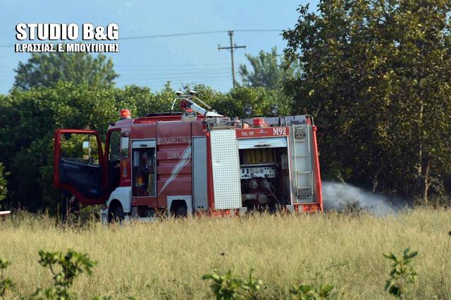 Πυρκαγιά στην είσοδο του Άργους