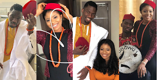 Pre-Wedding Photos Of Super Eagles Player, Kenneth Omeruo.