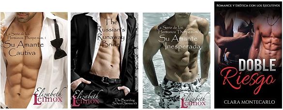 Típicas portadas de libros mal diseñadas y con poca originalidad