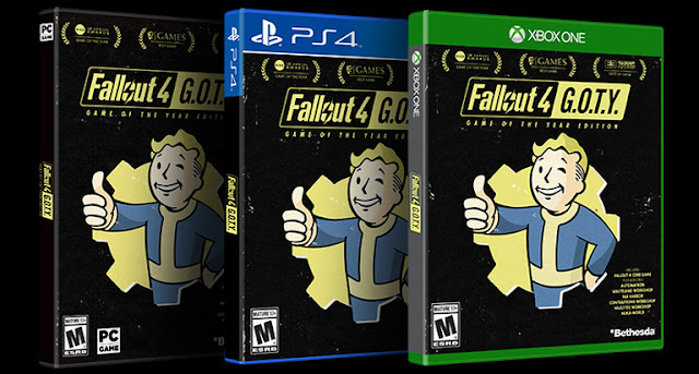 Se lista Fallout 4 G.O.T.Y para ¿Nintendo Switch?