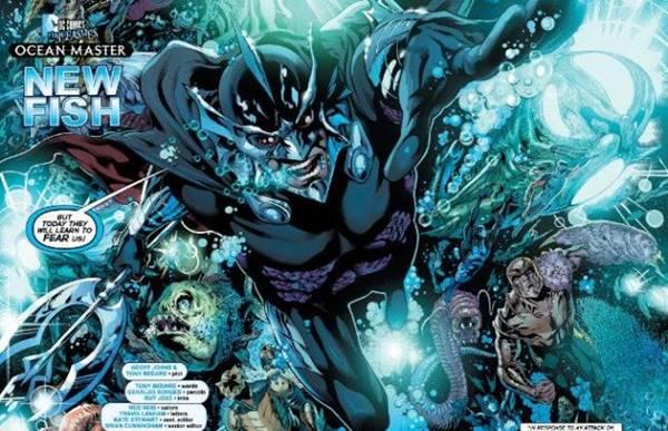 kekuatan ocean master musuh aquaman adalah