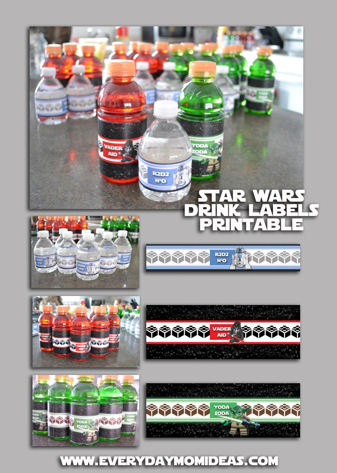 Brand New Star Wars Lego Birthday Party