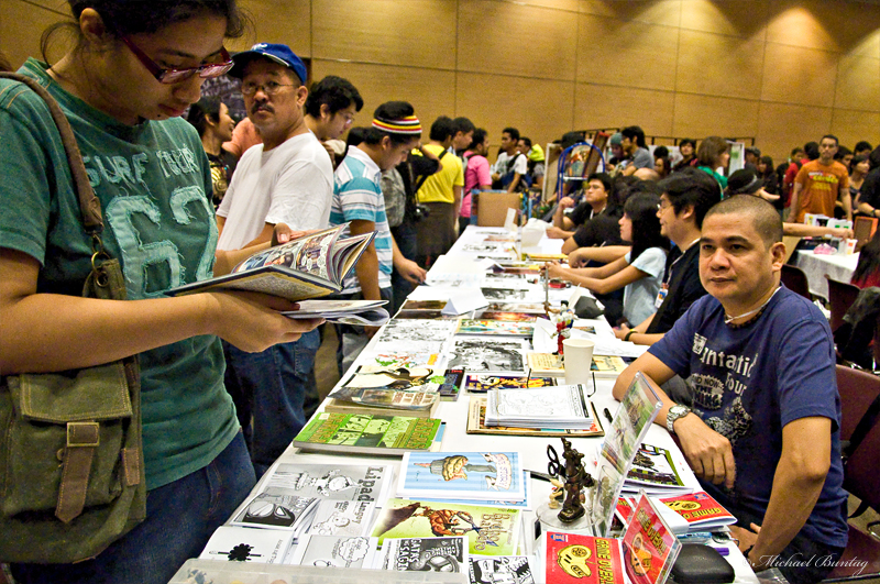 Exhibit Hall, Komikon 2011