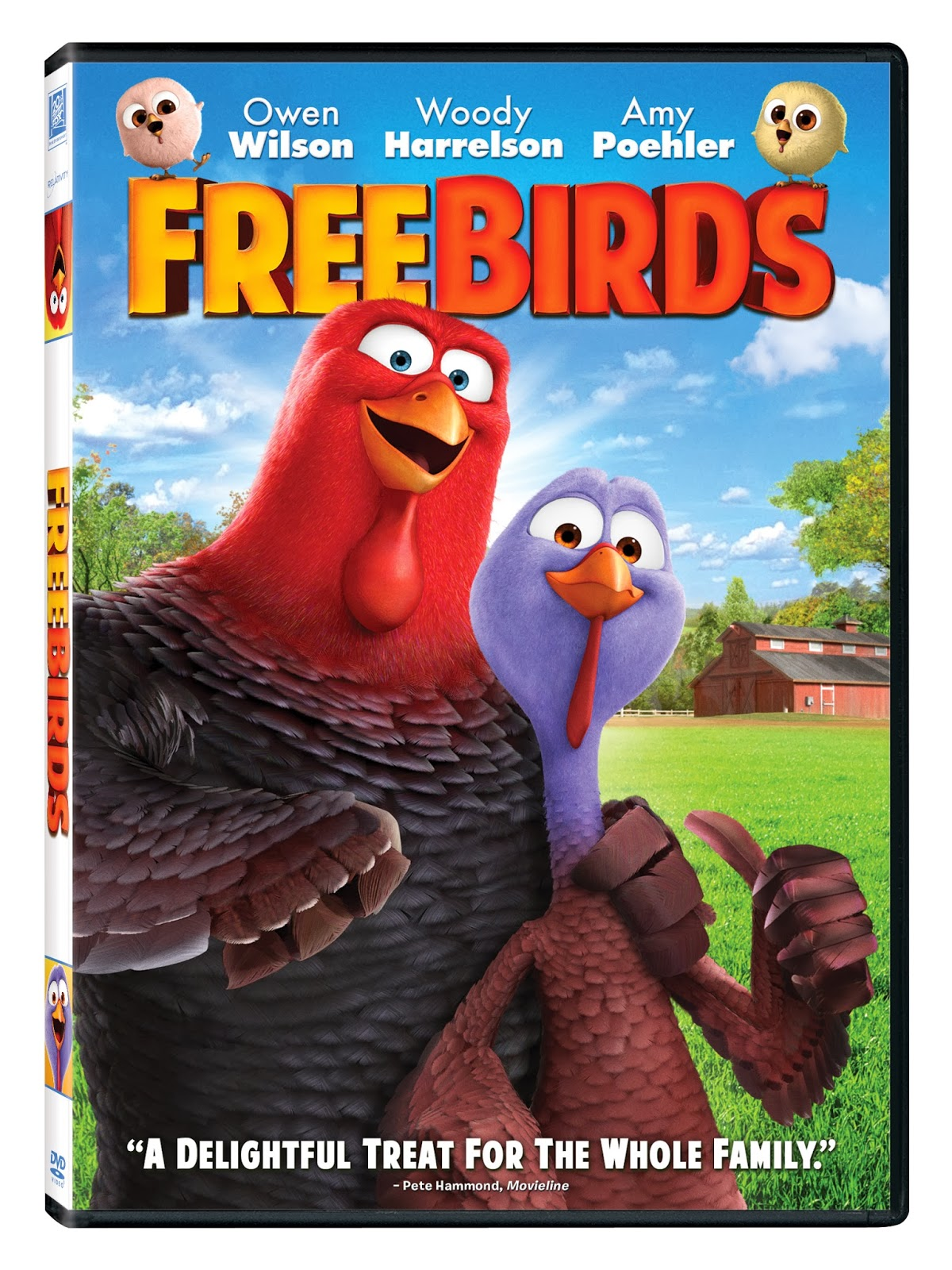 Maria's Space: Free Birds Is Now on Blu-ray and DVD PLUS A