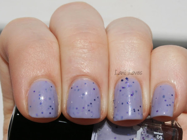 Dollish Polish - Purple Rain Swatch & Review