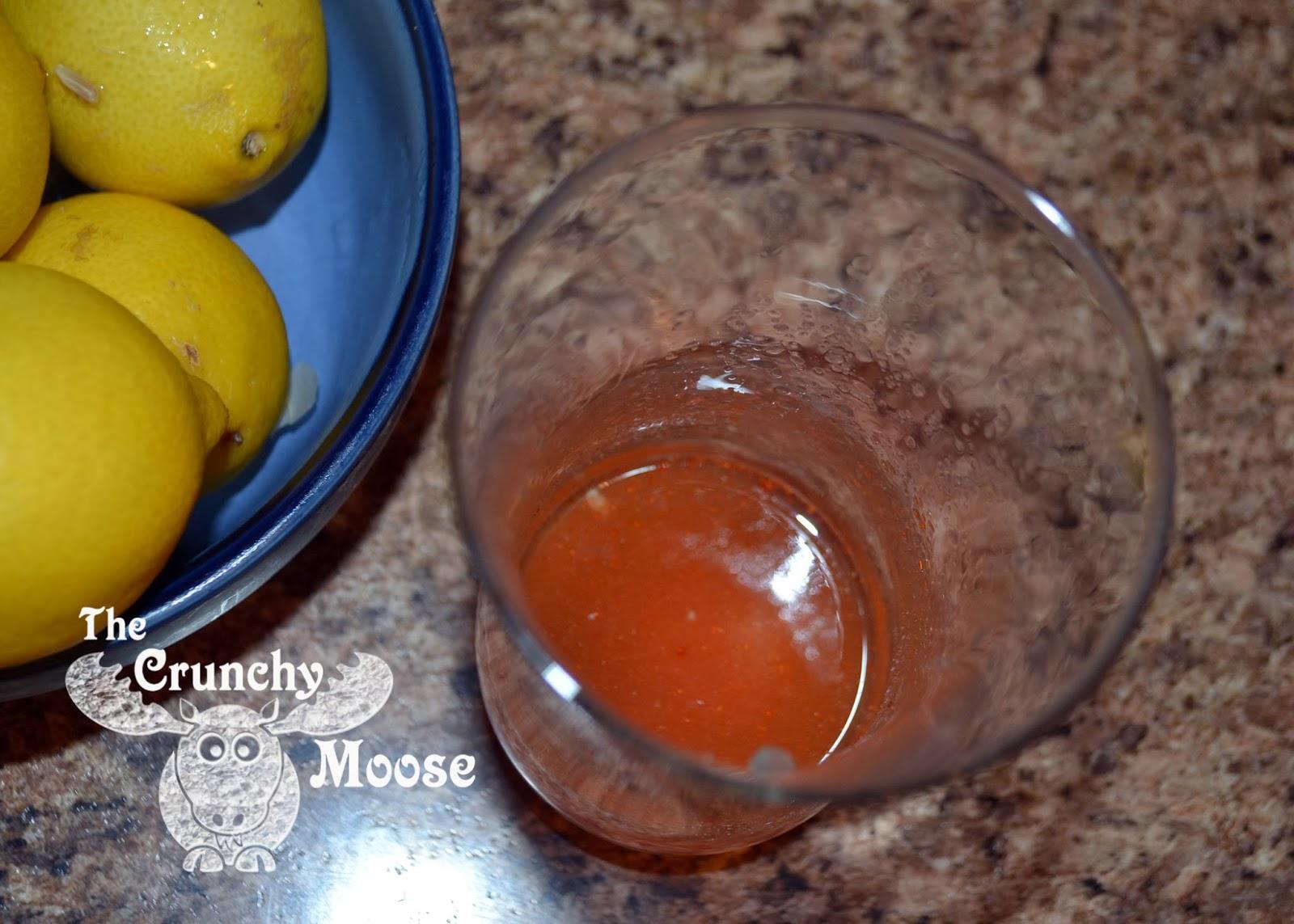 Morning Lemon Detox with Lemons, Apple Cider Vinegar, Cayenne Pepper