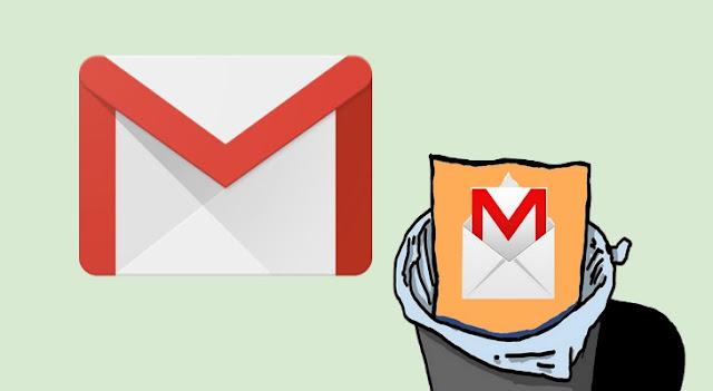 طريقة استعادة رسائل البريد الإلكتروني المحذوفة في Gmail