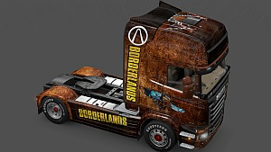 Scania Streamline Borderlands skin mod