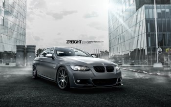 Wallpaper: Customized BMW E93