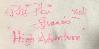 Phi Phi the Photographer Disney Autograph