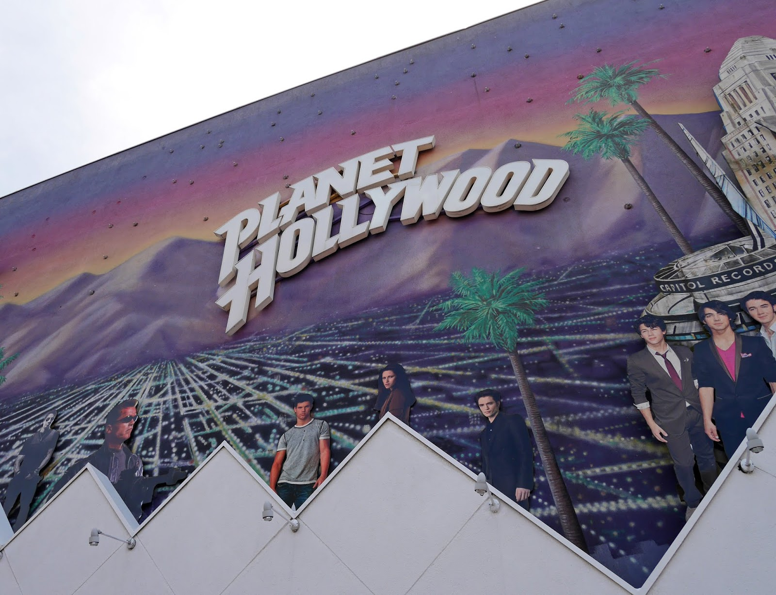 Planet Hollywood at the Disney Village, Disneyland Paris
