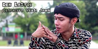 Chord Gitar Lagu Dek Lastri (Despacito versi Jawa)