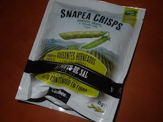 Snapea Crisps al punto de sal