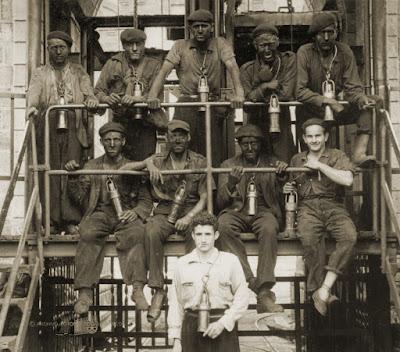 """Mineros de """"El Calero"""""""