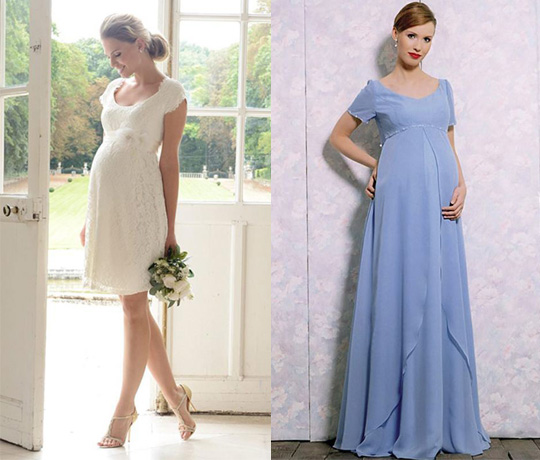 scoop neckline bridesmaid dresses