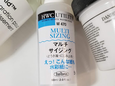 Holbein multi sizing medium 60 ml.