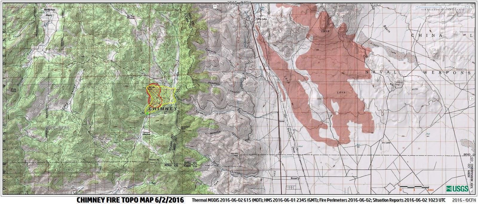 Peak Fire Map.Cfn California Fire News Cal Fire News Ca Cnd