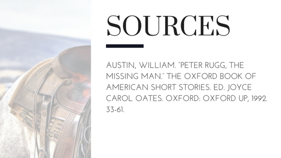 Summary of William Austin's Peter Rugg the Missing Man Sources