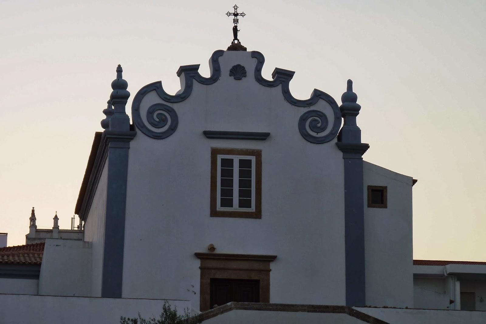 La Iglesia de Santa Ana en Albufeira.