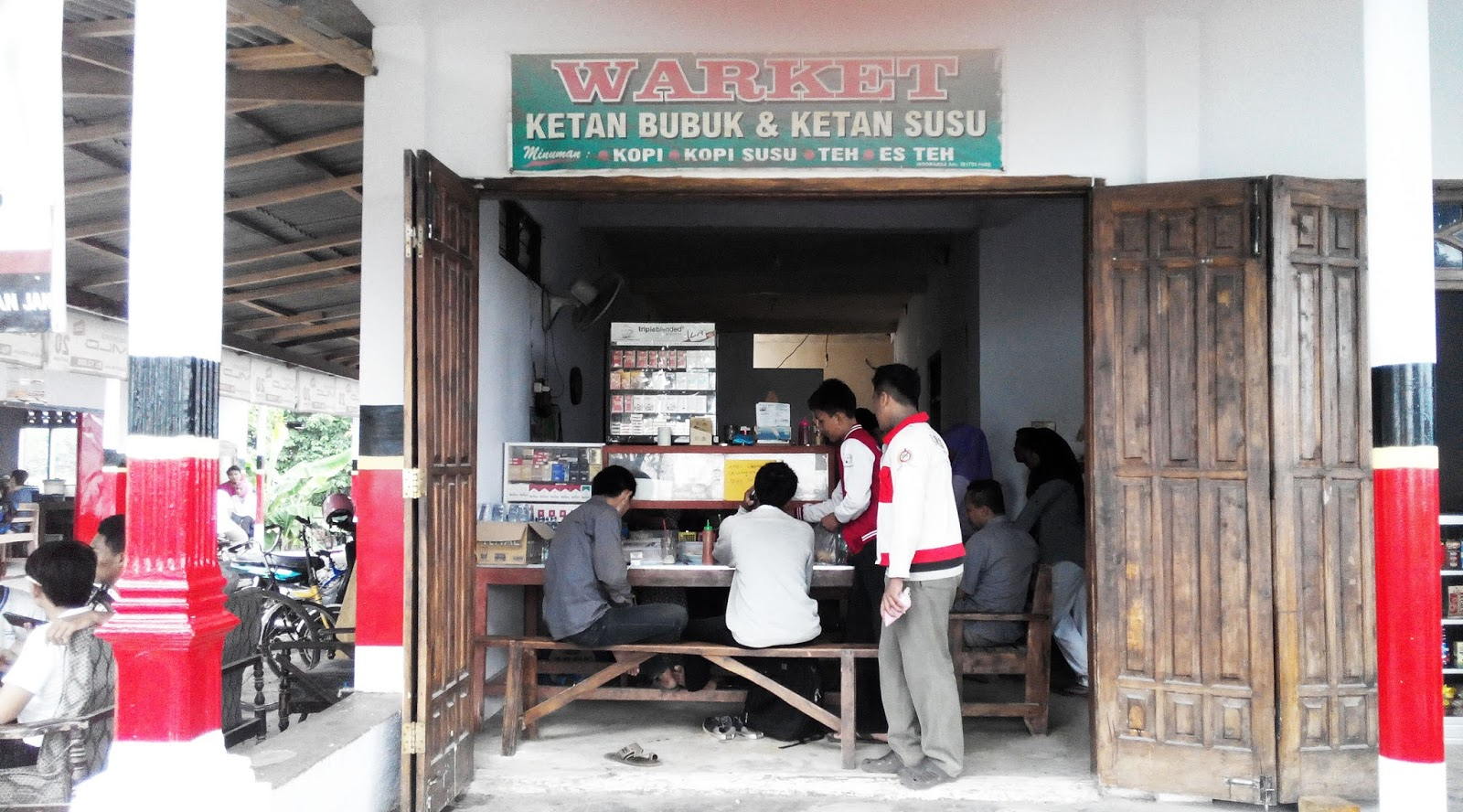 Warung Warket (Warung Ketan Susu) kampung inggris pare