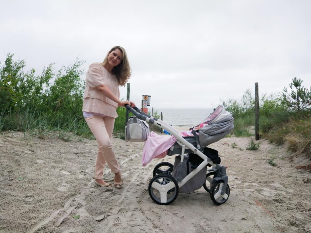 Wakacje nad morzem z niemowlakiem 💛