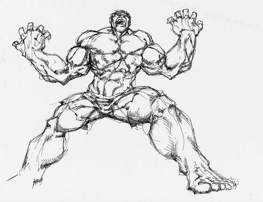 Bello Disegni Di Hulk Da Colorare Sul Computer Gratis Migliori