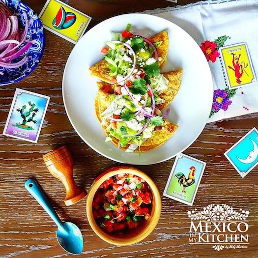 Chorizo Potato Crispy Tacos recipe