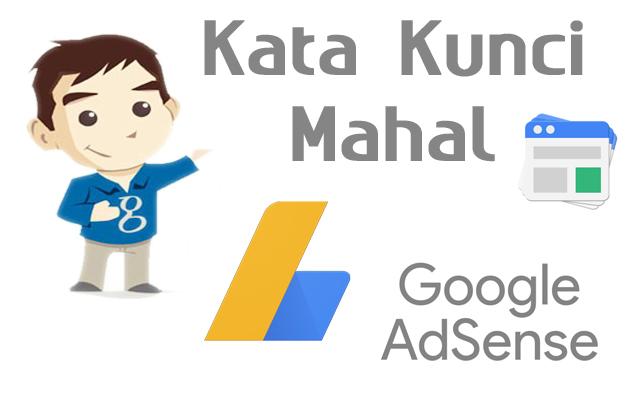 Daftar Kata Kunci Mahal Adsense dan Kategori Pencarian