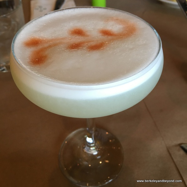 Pisco sour at Pio Pio 2 in Jackson Heights, Queens, New York