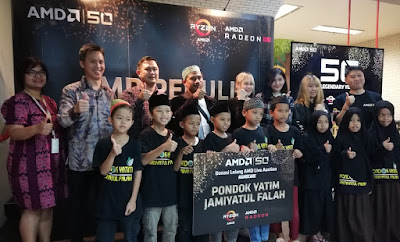 Acara Buka Puasa Bersama AMD di Wahana Visi Indonesia