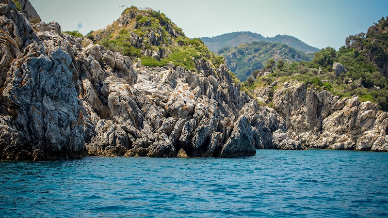 Landscape from Nature with the Sea and Rocks HD
