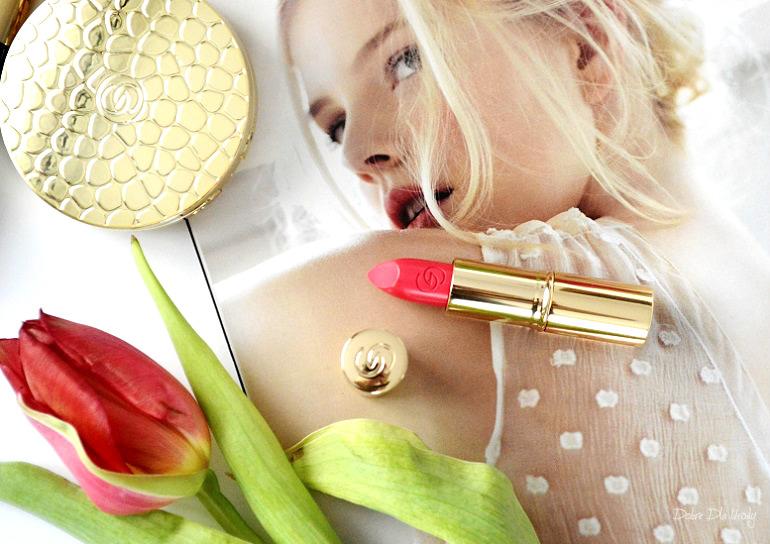 Pomadka Giordani Gold Iconic SPF 15 Raspberry Blush recenzja