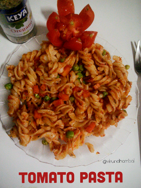 Simple Homestyle tomato pasta, Kids recipes