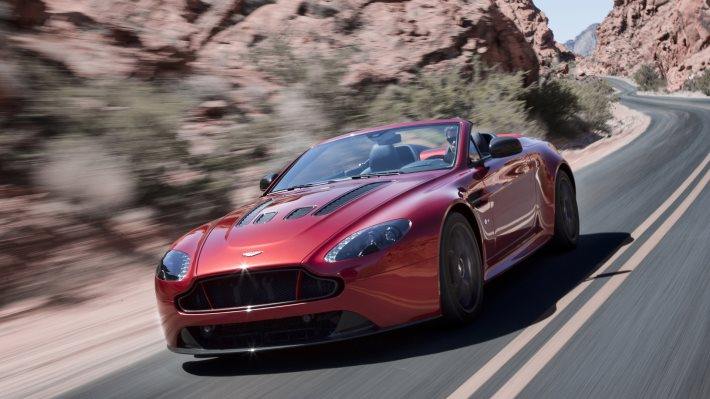 Wallpaper 3: Aston Martin V12 Vantage S Roadster
