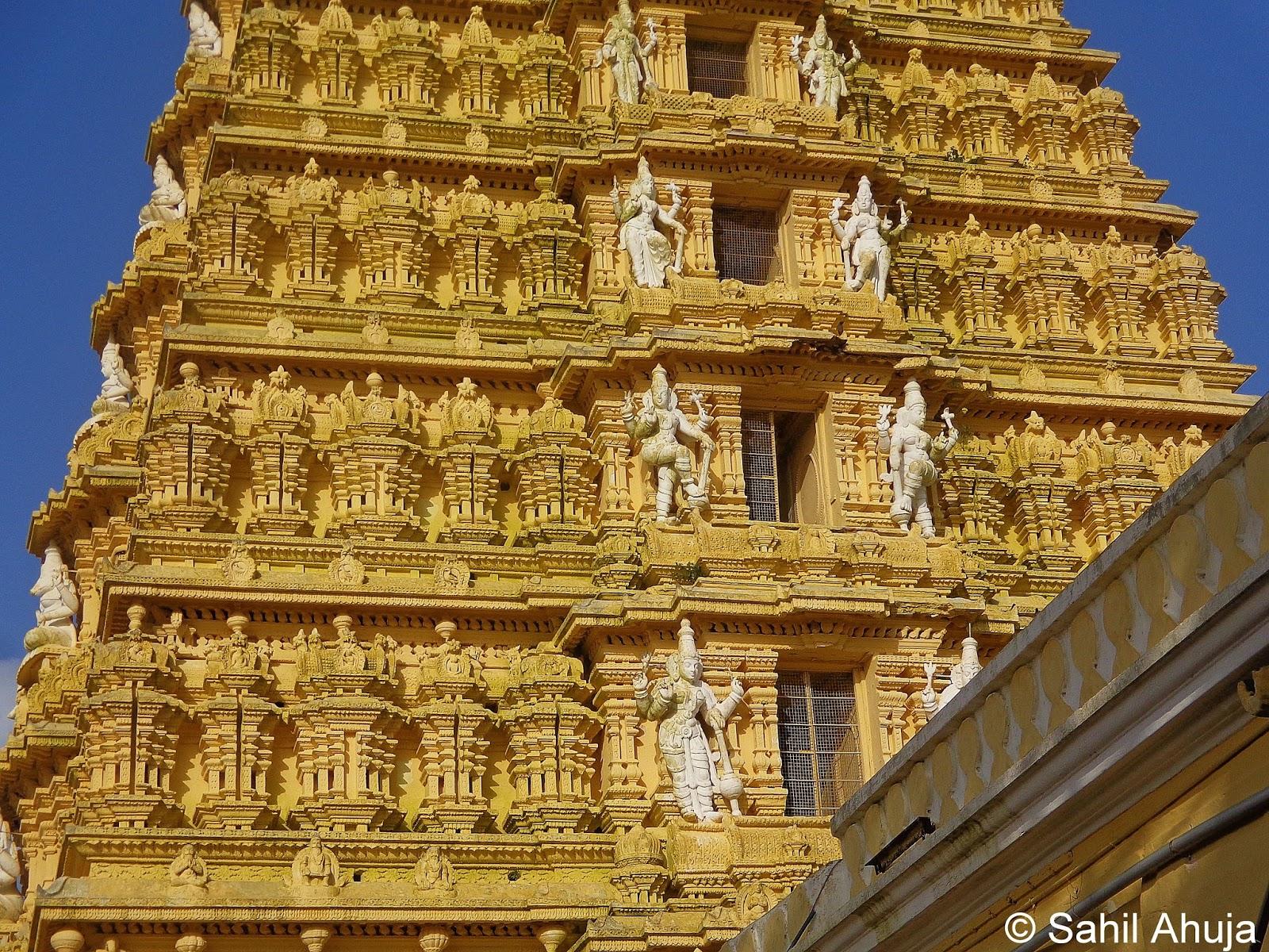 Pixelated Memories: Sri Chamundeshwari Temple, Mysore ...