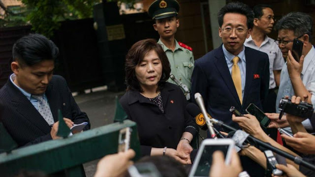 Corea del Norte pone condiciones para dialogar con EEUU