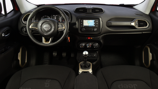 Jeep Renegade Argentina interior