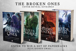 The Broken Ones Cover Reveal Giveaway banner