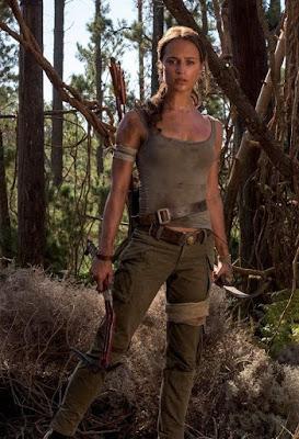 IMDB بالعربي عودة شخصية لارا كروفت اليشيا فيكاندر في فيلم تومب رايدر