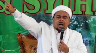 Habib Rizieq dugaan penistaan Agama