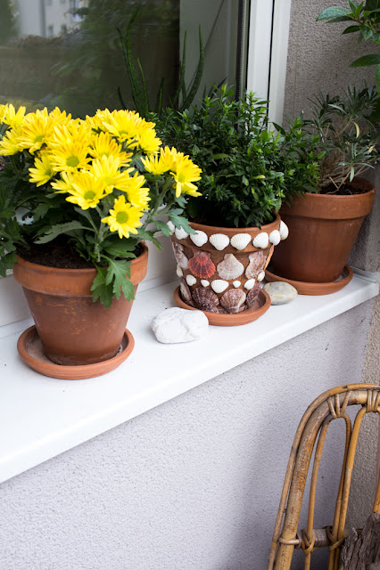 Hippie Flair Balkon Umstyling | Boho Bohemian small Balcony | DIY do it yourself Inspiration Interior Garten und Balkon | selbstgemachte Deko aus Naturmaterialien