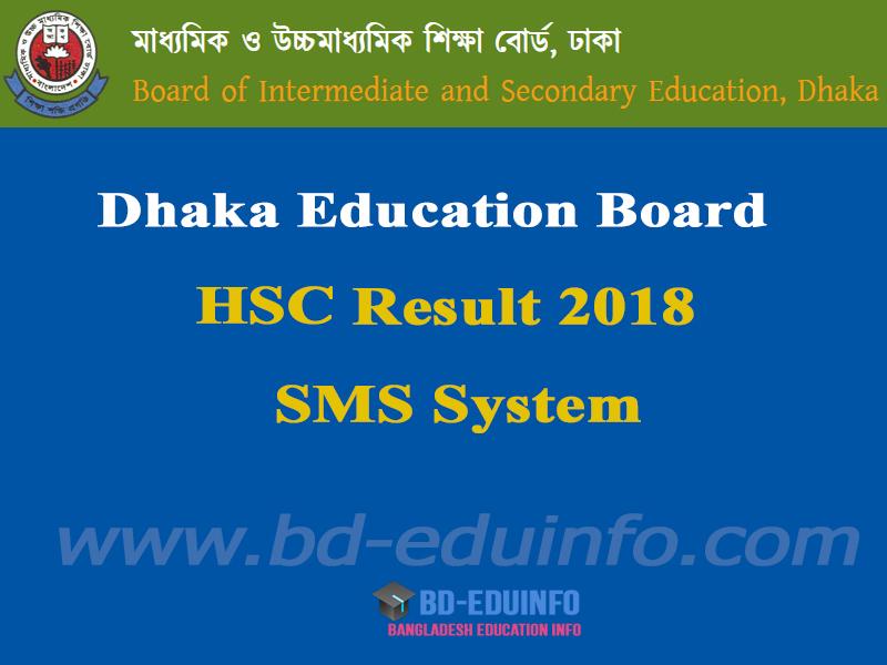 Dhaka Board HSC Result 2018