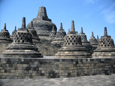 Borobudur is the largest Buddhist temple