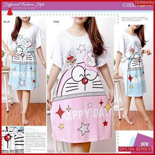 SPC154D67 Differen Doraemon Terbaru Dress Baju Tidur Wanita | BMGShop