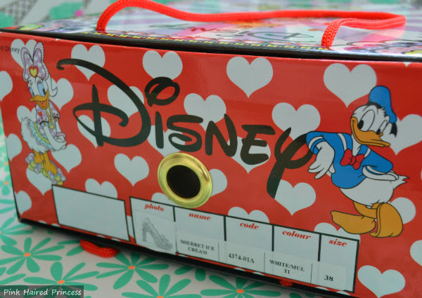 irregular choice disney shoe box detail