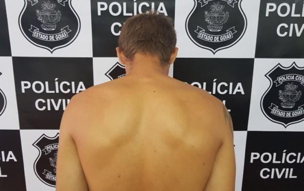 Em Luziânia a Polícia Civil prendeu pai que abusava da filha de 9 anos
