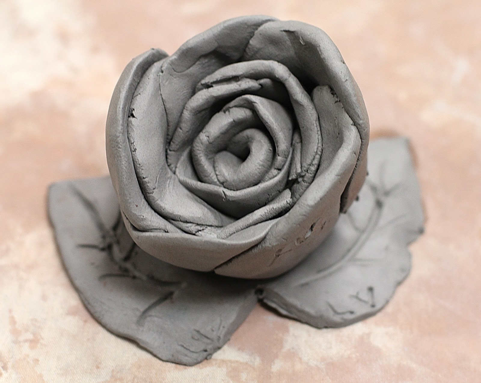 Mothers Day Flower Smart Class Clay Roses For Mother S Day