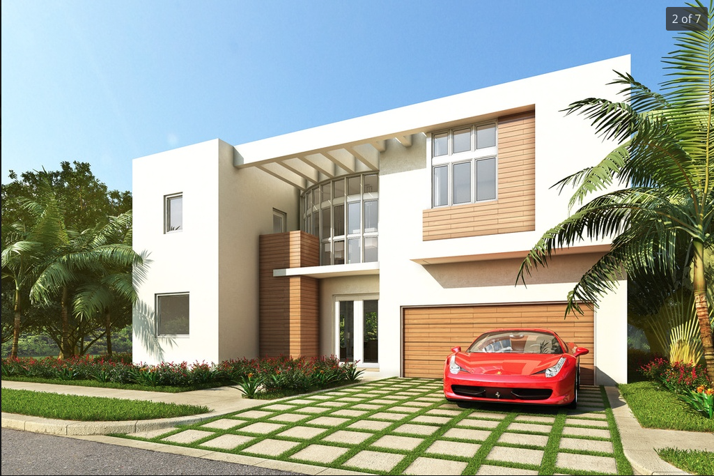 Paradise luxury properties modern doral in doral new for Modern homes for sale in florida